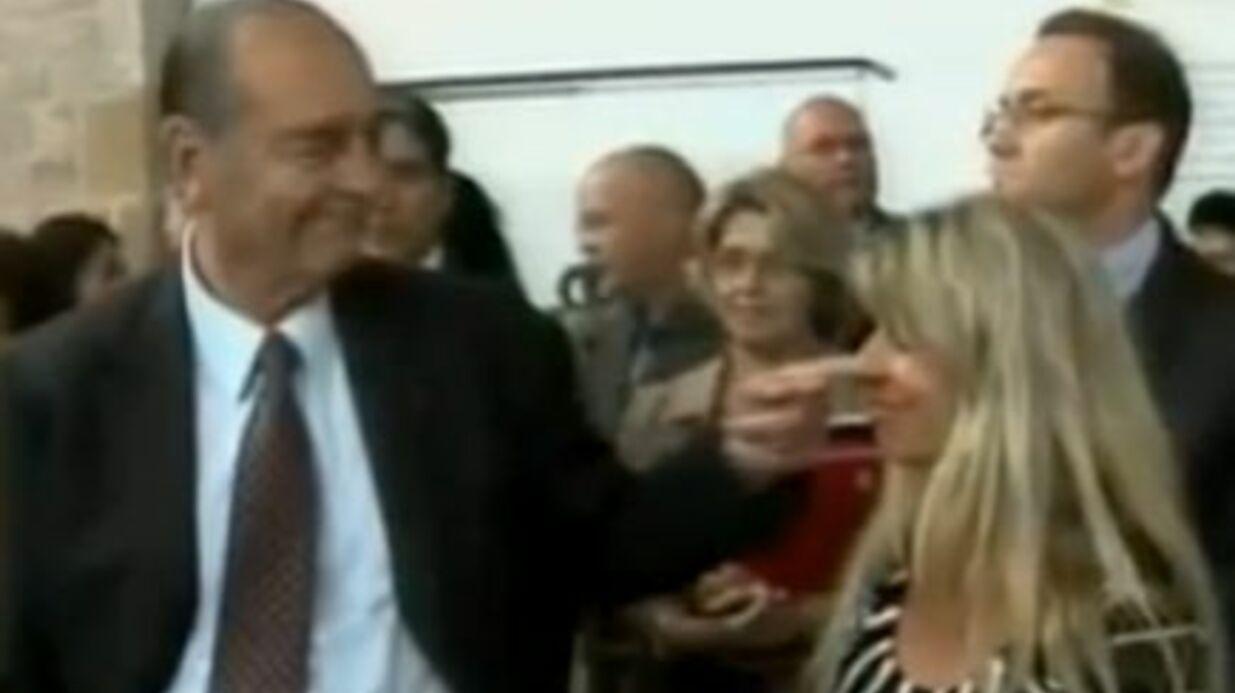 Jacques Chirac: celle qu'il a draguée devant les caméras parle