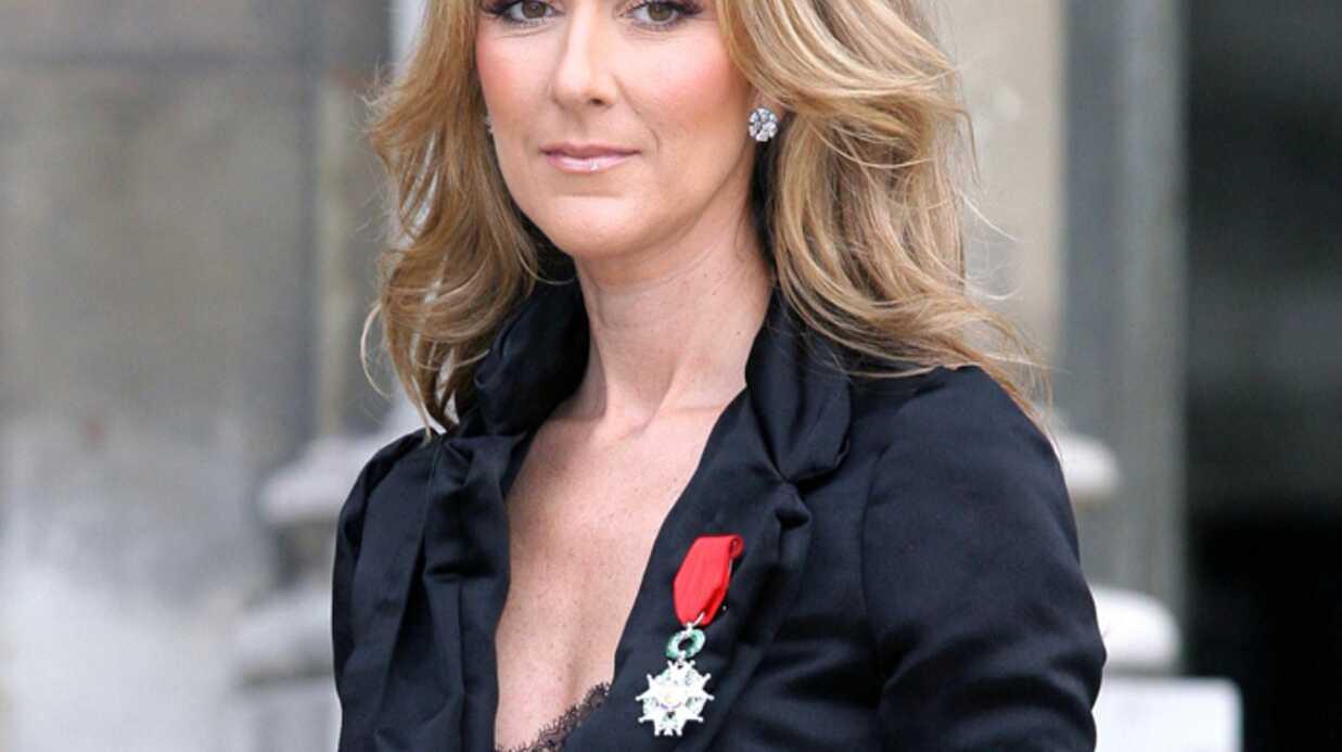 Céline Dion Chevalier sur le tard