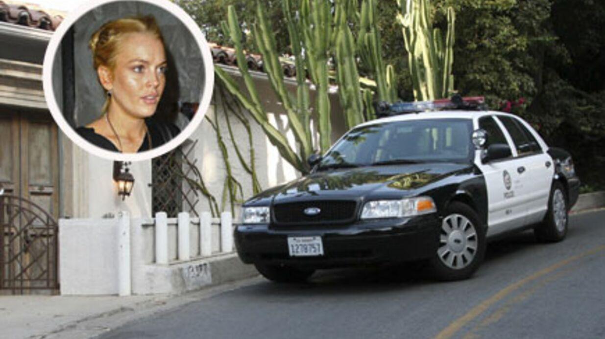 Lindsay Lohan: sa maison cambriolée