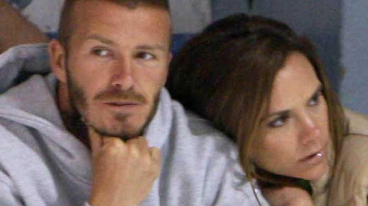 David et Victoria Beckham Un bébé en projet
