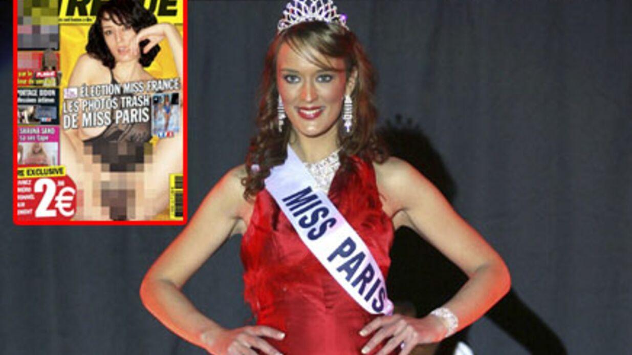Miss Paris destituée à cause de photos X