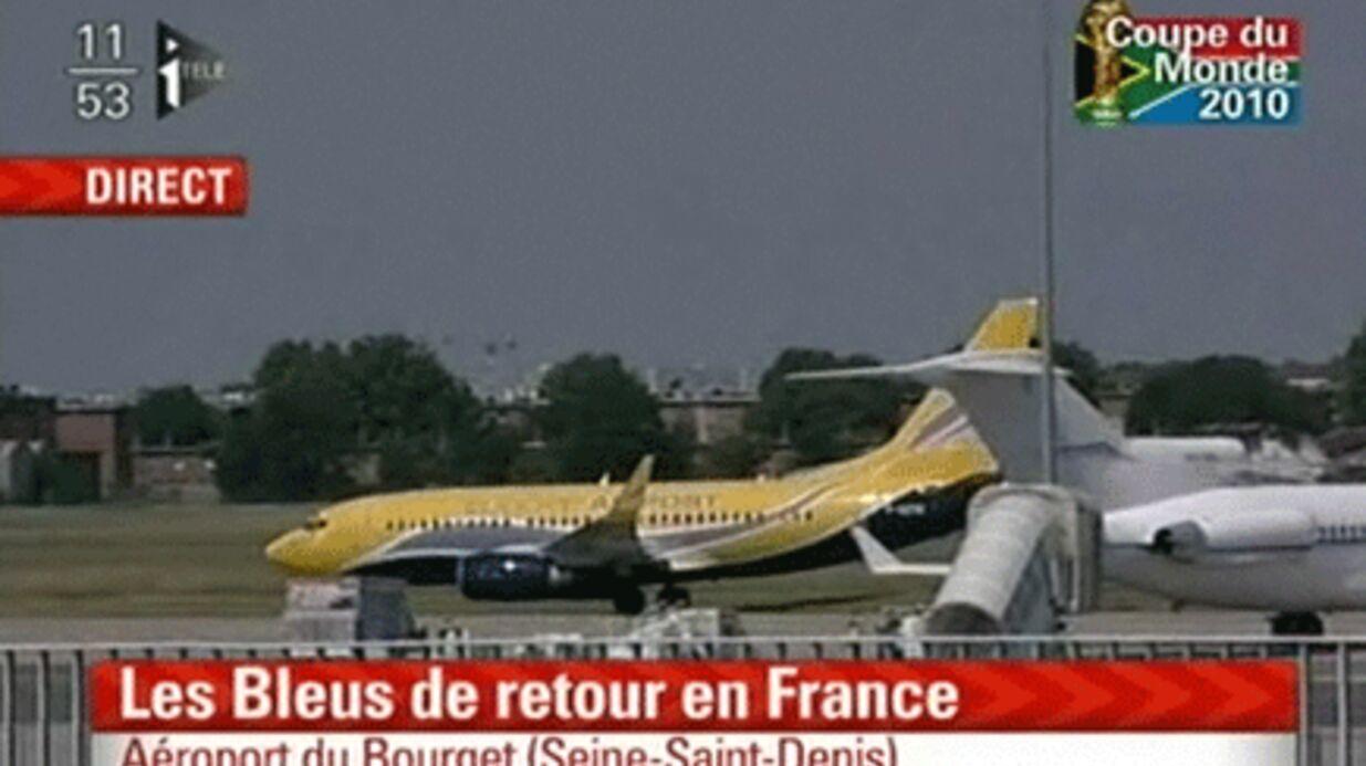 Equipe de France: les Bleus sont à Paris