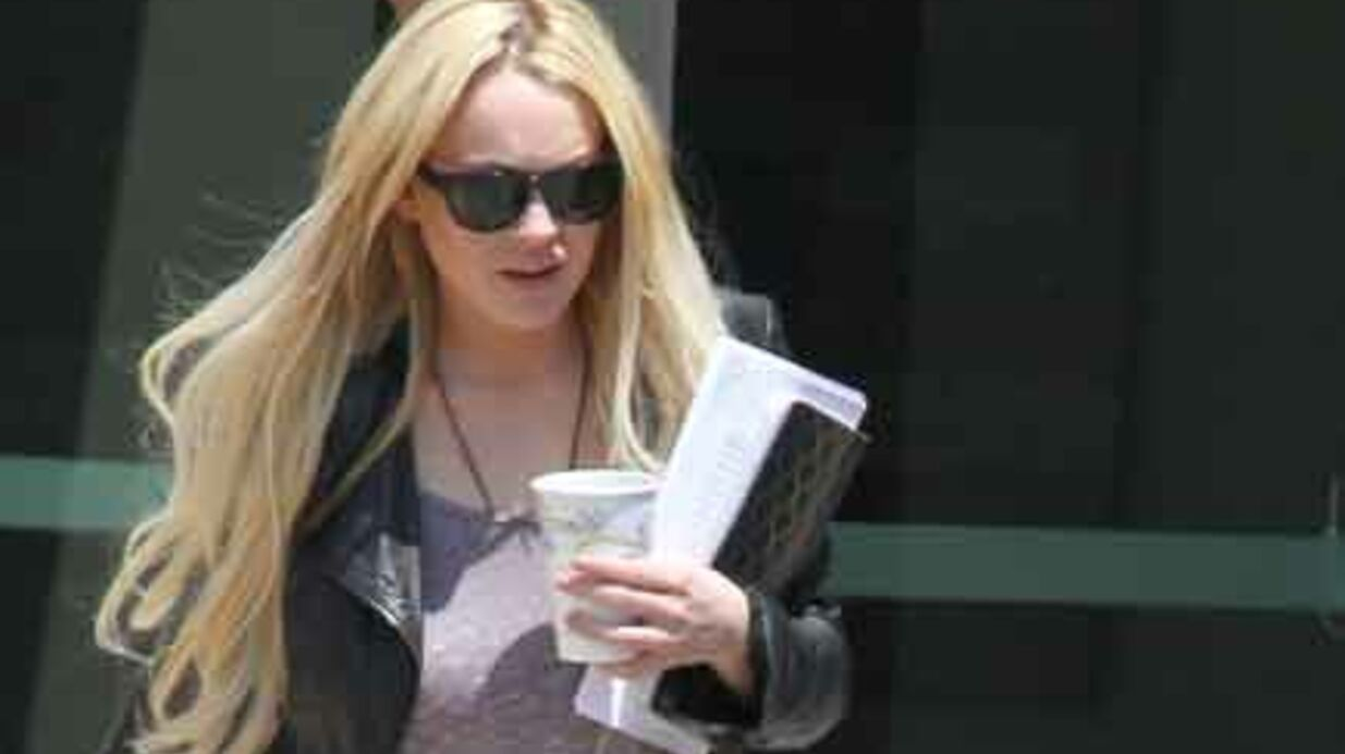 Lindsay Lohan jure avoir arrêté l'alcool