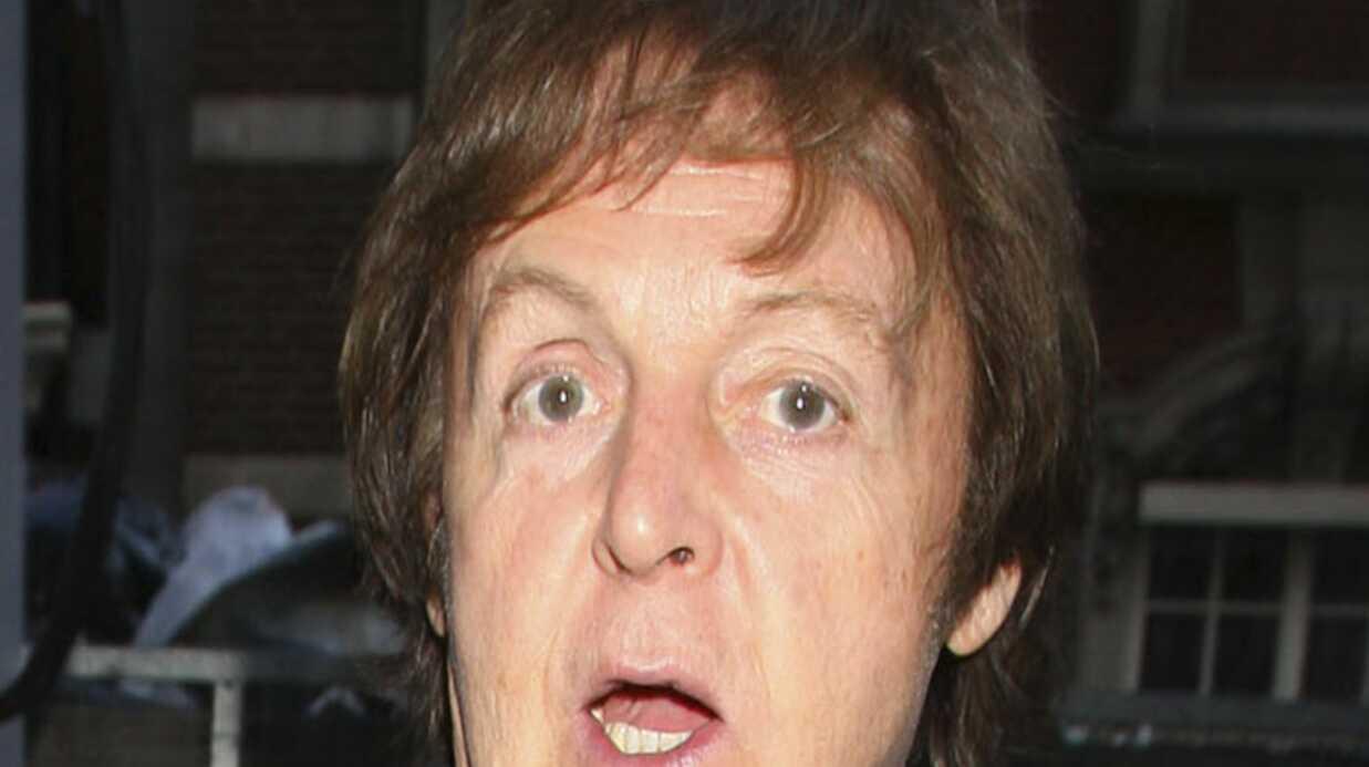 VIDEO Paul McCartney: gros gadin sur scène