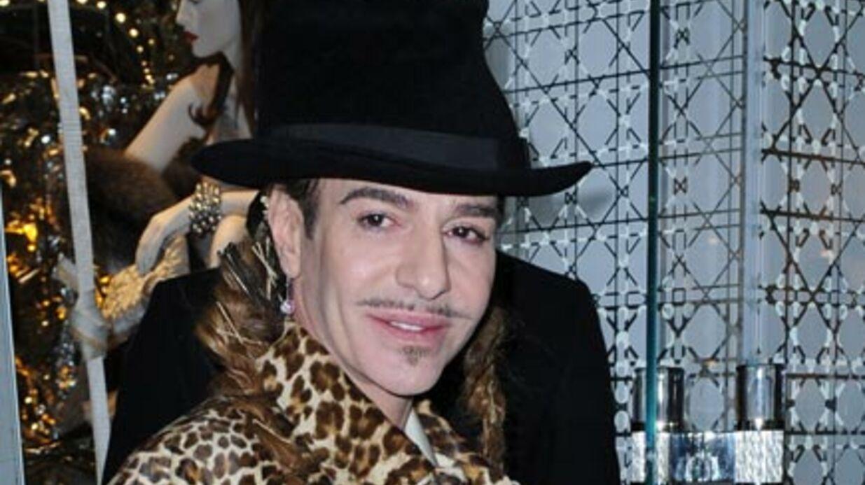 John Galliano suspendu de ses fonctions chez Dior