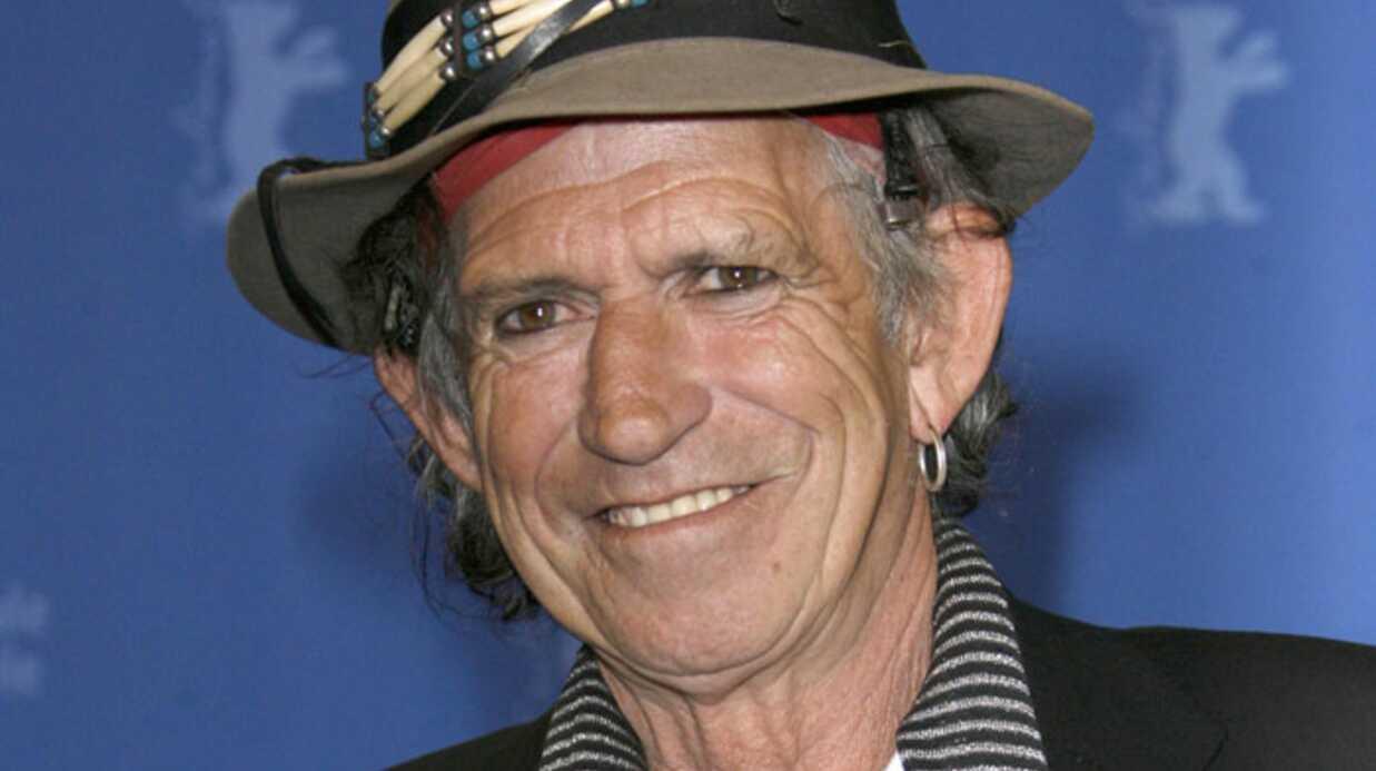 Keith Richards: le guitariste des Rolling Stones arrête l'alcool