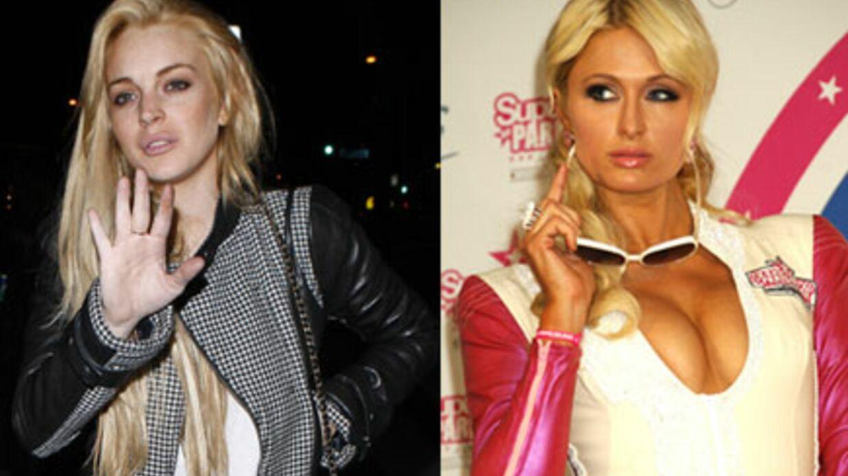 Lindsay Lohan et Paris Hilton: 1 million de dollars pour boxer