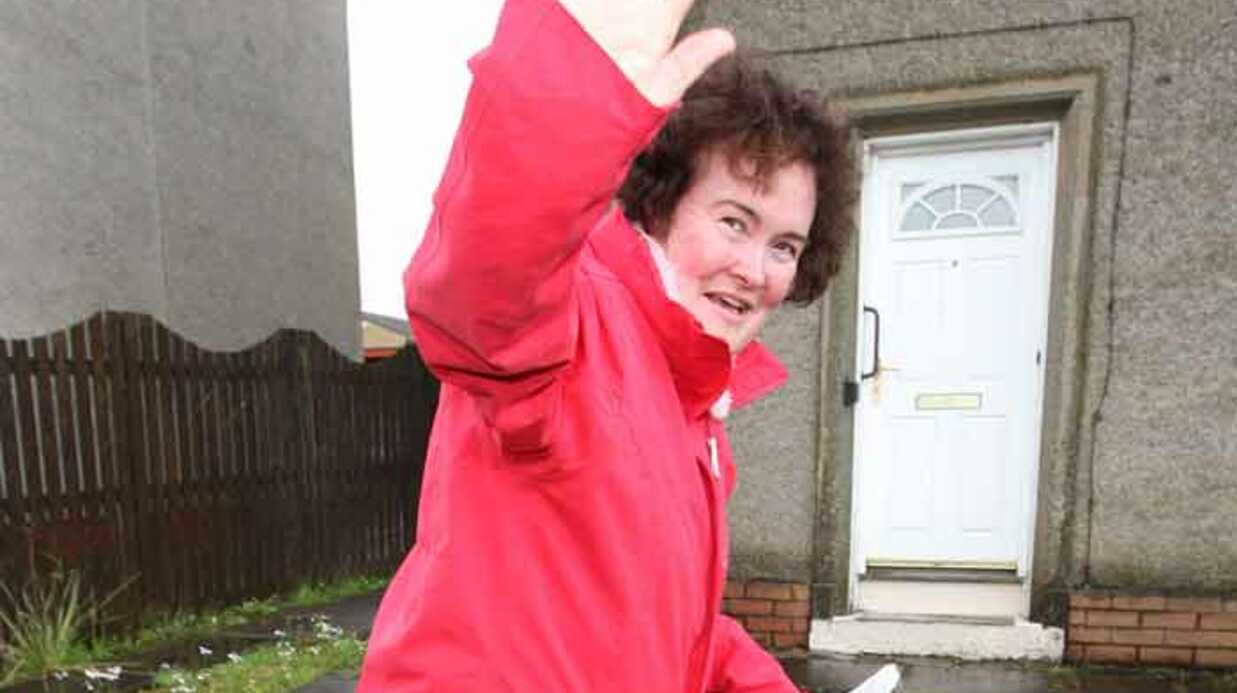 Susan Boyle en finale d'Incroyable talent