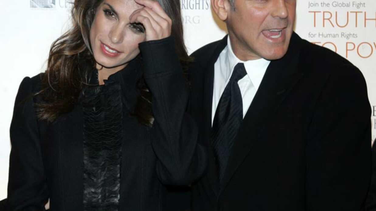 George Clooney et Elisabetta Canalis séparés en catimini?