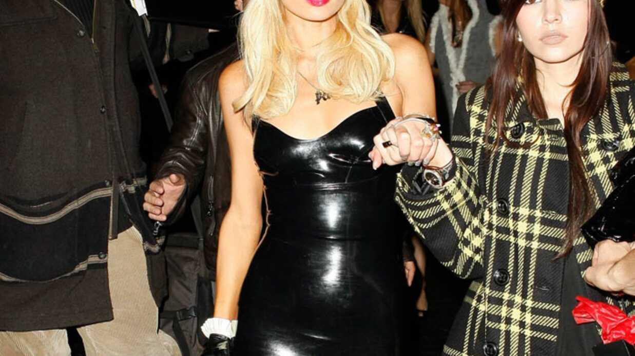 Paris Hilton: sexy en latex?