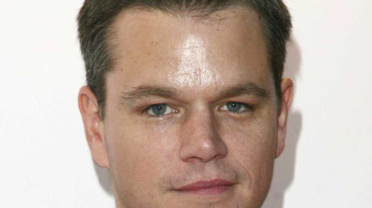 Matt Damon déteste James Bond