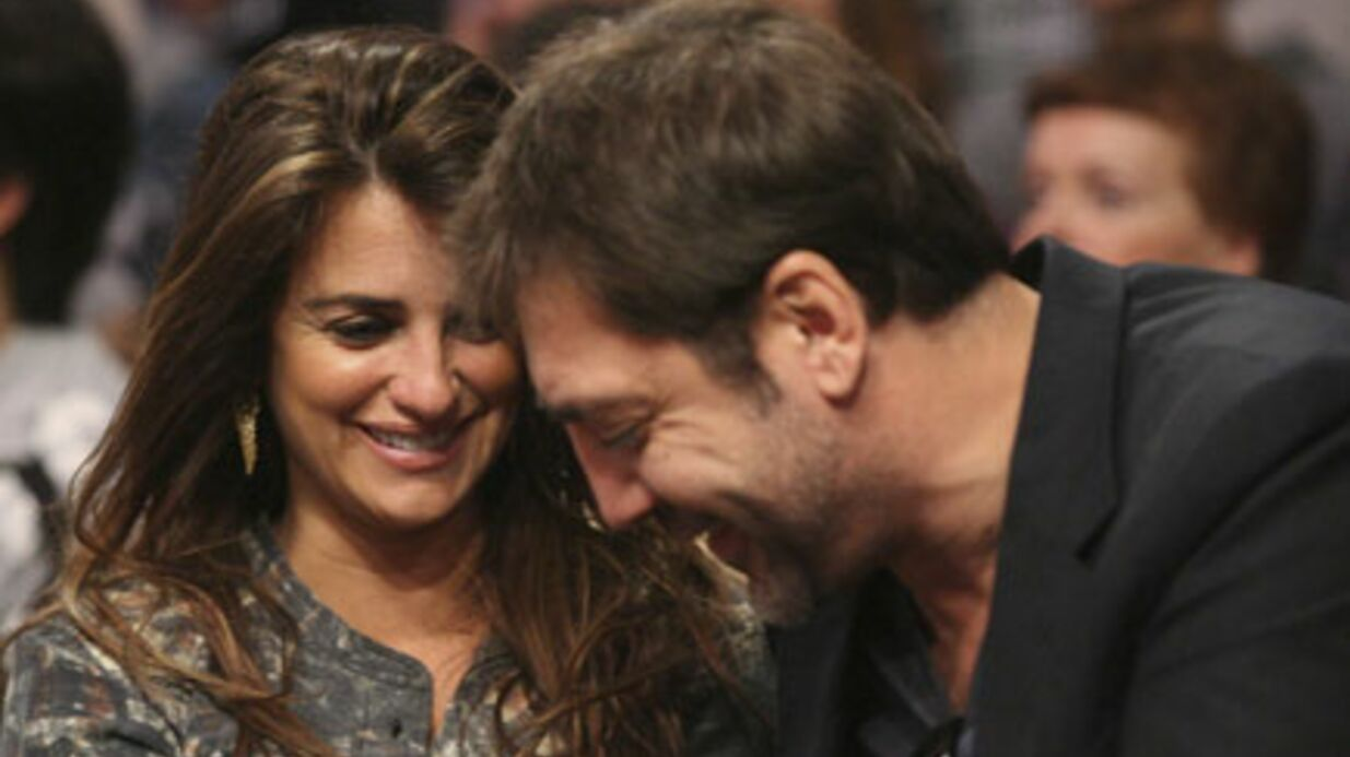 Penélope Cruz et Javier Bardem: c'est un garçon