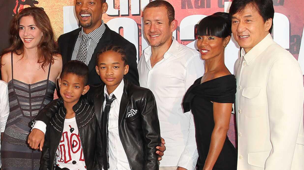 Will Smith et Dany Boon pour la promo de Karate Kid