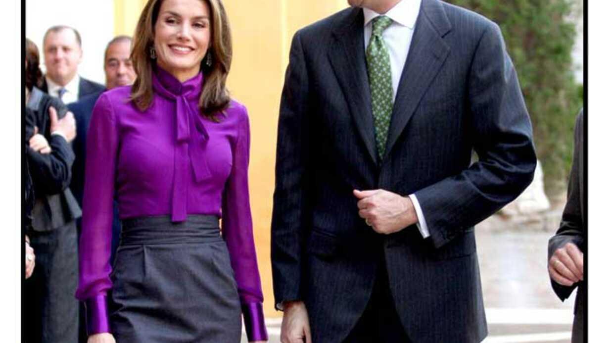 LOOK – La princesse Letizia d'Espagne est très glamour