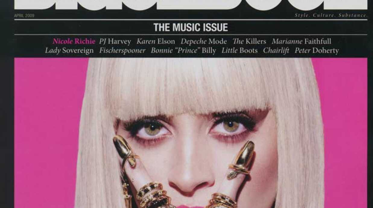 PHOTO Quand Nicole Richie se transforme en Lady Gaga