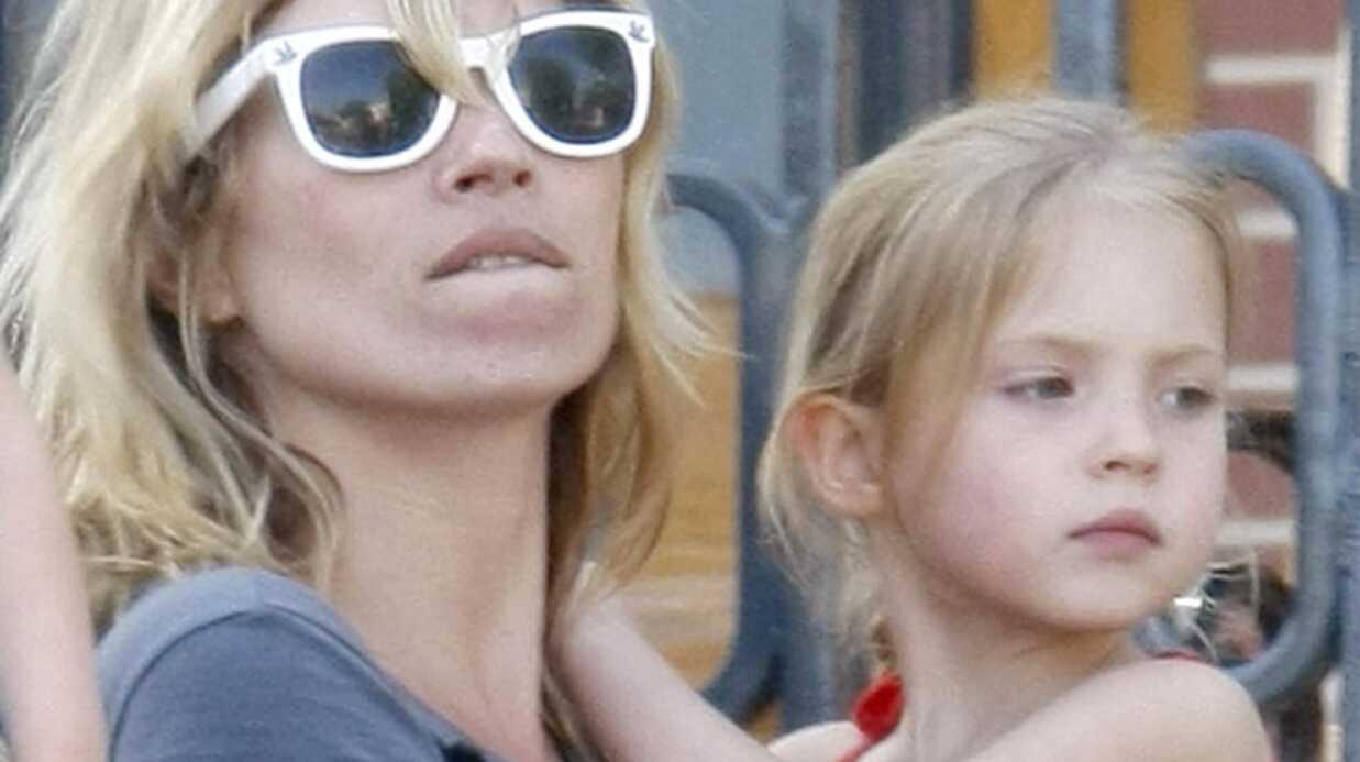 Kate Moss fait du chantage à sa fille