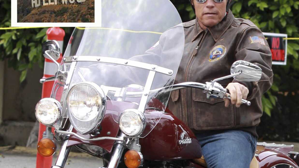 Arnold Schwarzenegger a sauvé le panneau Hollywood