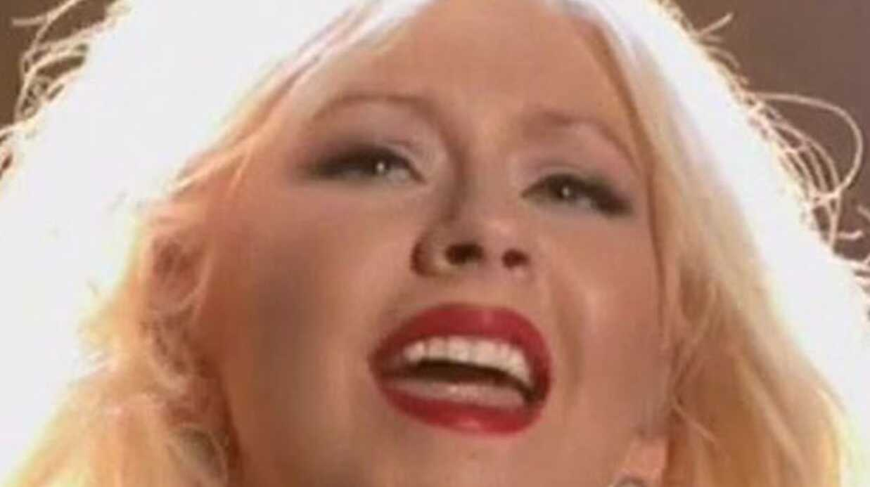 Christina Aguilera se moque d'elle-même