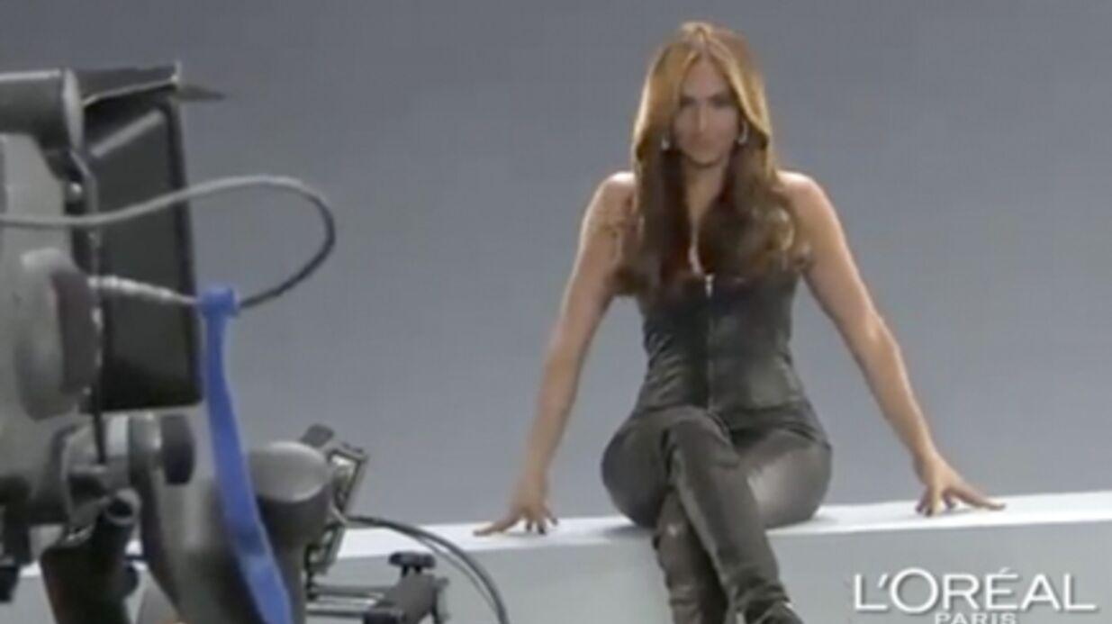 VIDEO Dans les coulisses de la pub L'Oréal avec Jennifer Lopez
