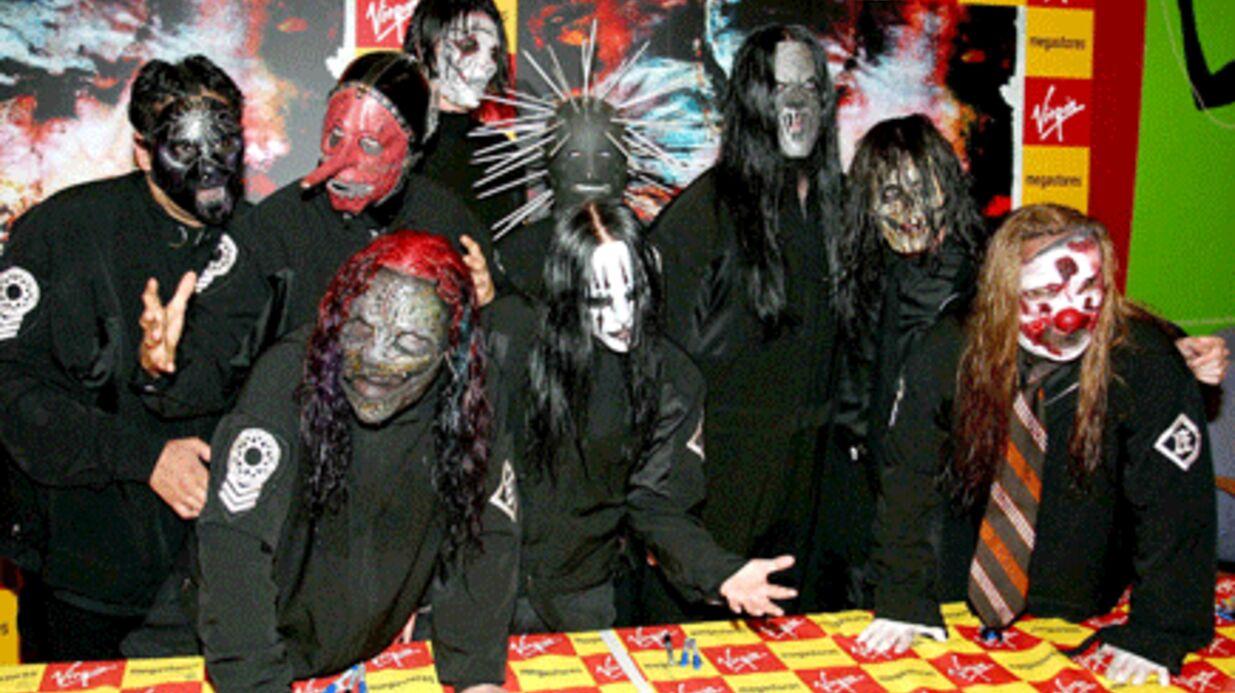 VIDEO Slipknot: la tristesse des musiciens sans masques