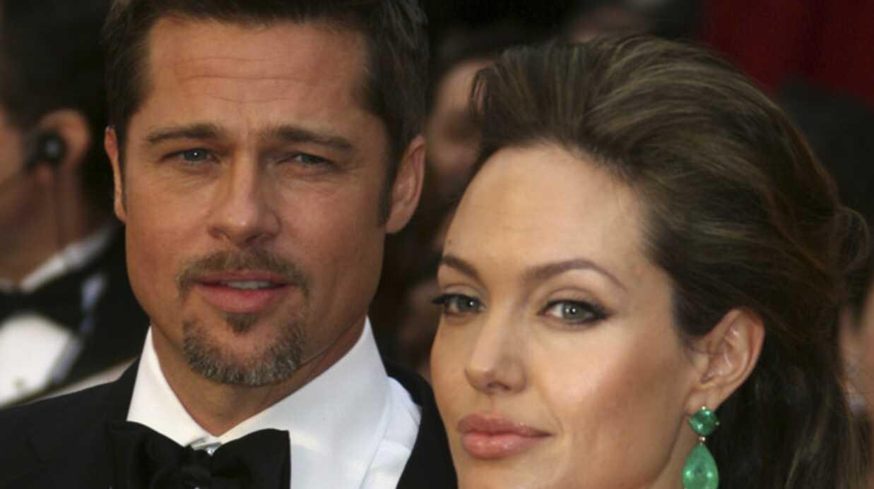 Angelina Jolie: fâchée avec Brad Pitt