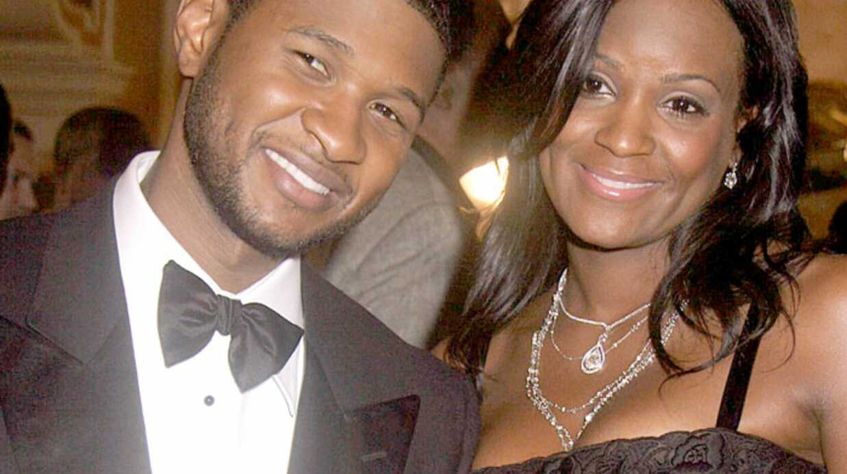 Usher Heureux papa d'un petit Usher!