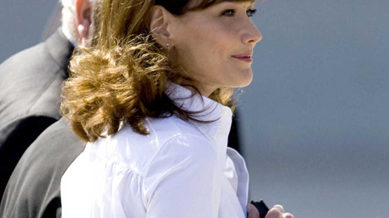 Carla Bruni: des photos d'elle volées