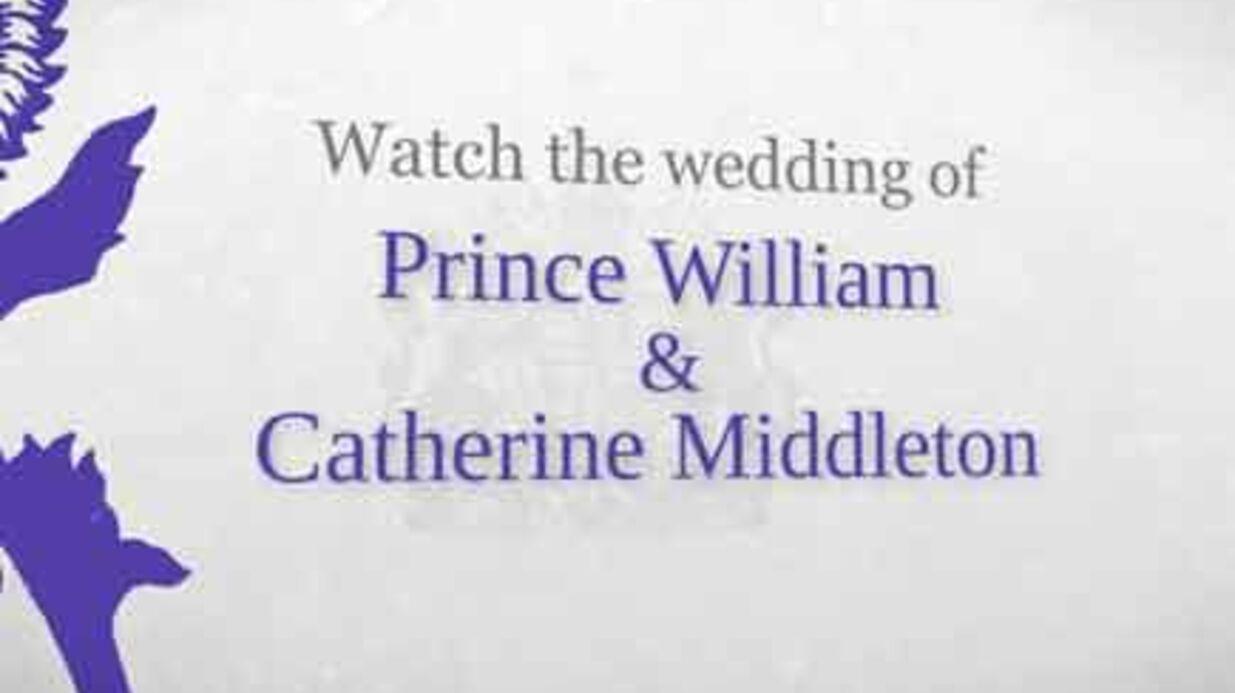 EN DIRECT: Suivez le mariage de William et Kate Middleton