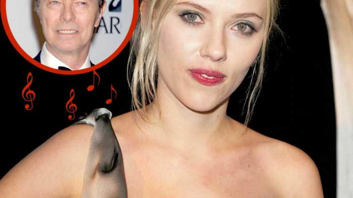 Scarlett Johansson Un album avec Bowie