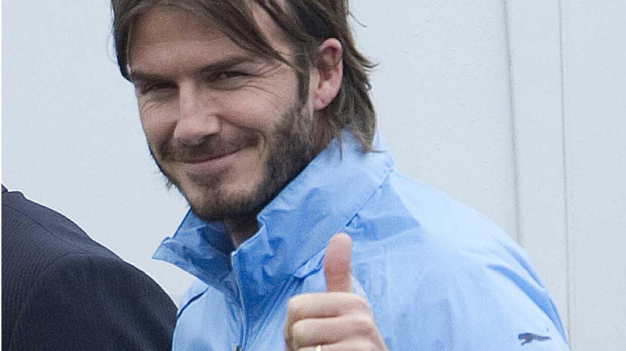 David Beckham révèle un nouveau tatouage