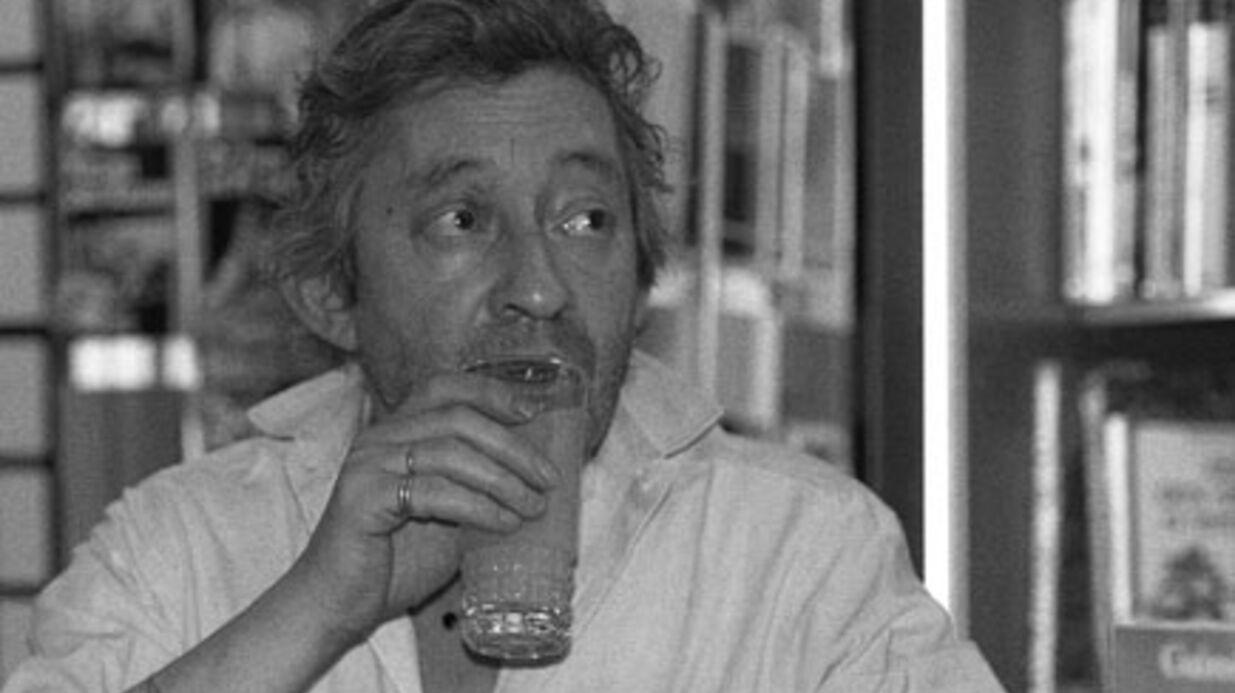 Serge Gainsbourg nu dans Libération