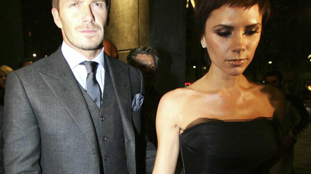 Victoria et David Beckham: dix ans de mariage, pas de fête