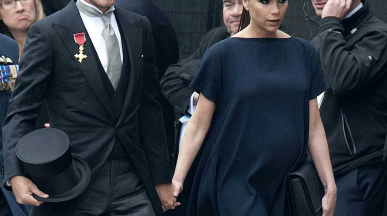 Les Beckham: trop classes au mariage de William