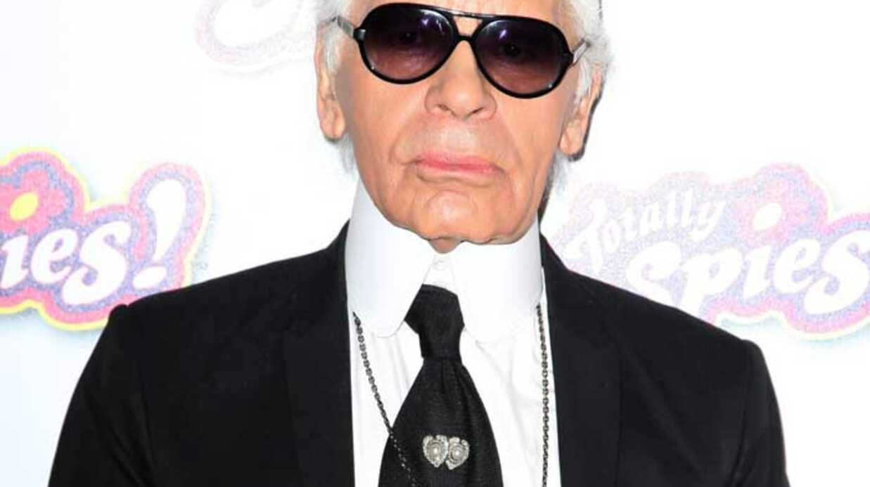 Karl Lagerfeld, le méchant dans Totally Spies