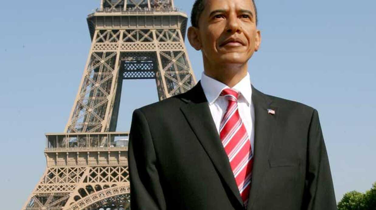 Le musée Grévin présente la statue de cire de Barack Obama