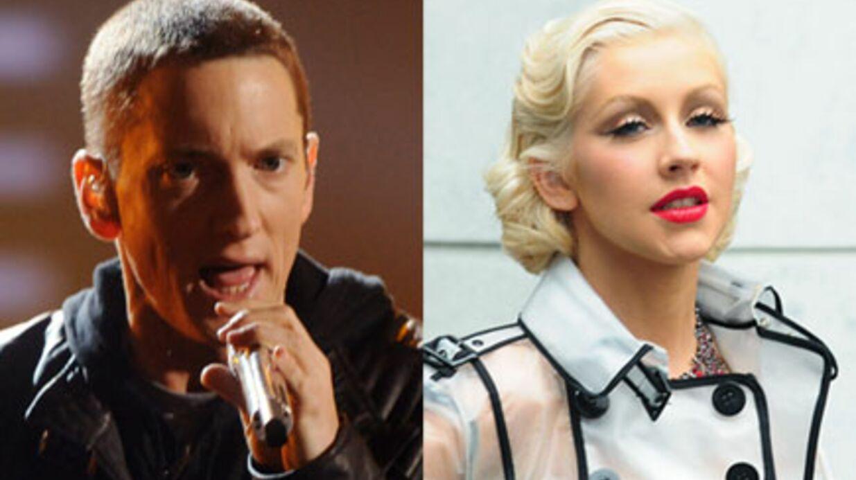 Eminem et Christina Aguilera dans un épisode d'Entourage