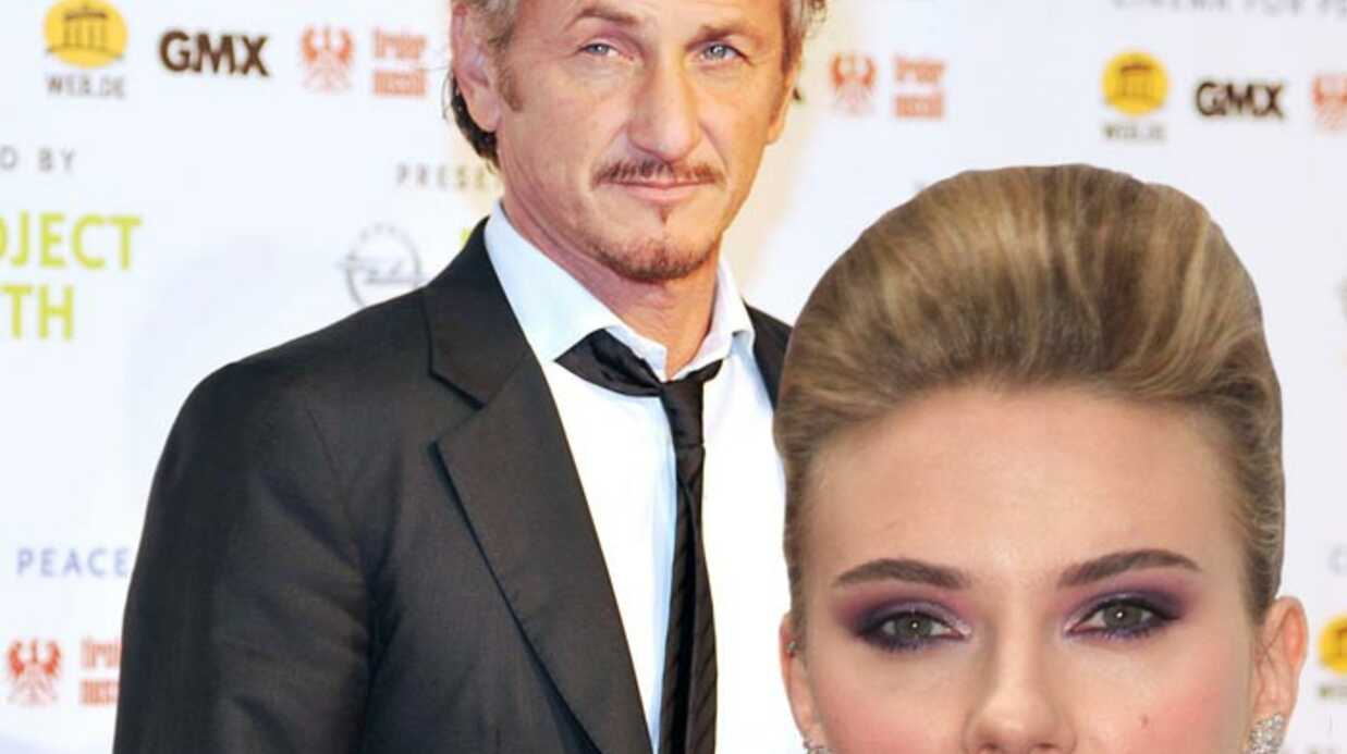 Scarlett Johansson avec Sean Penn au mariage de R. Witherspoon