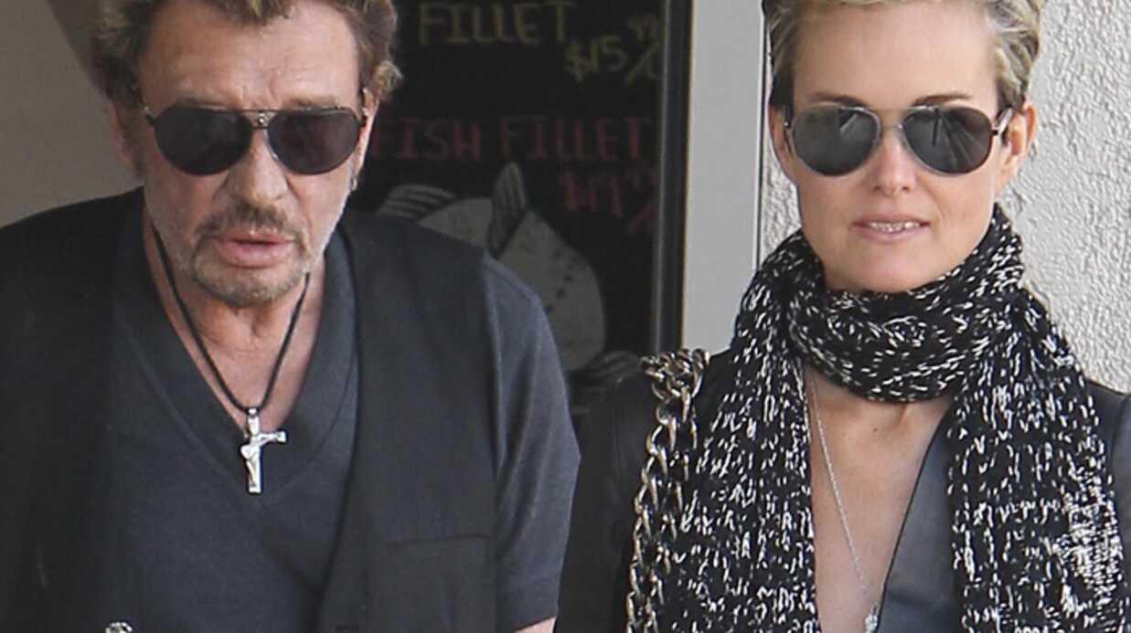 Johnny Hallyday et Laeticia sont rentrés à Paris!