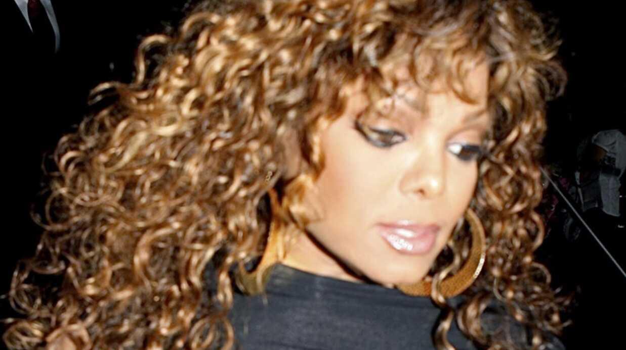 Janet Jackson: son chéri lui a vomi dessus