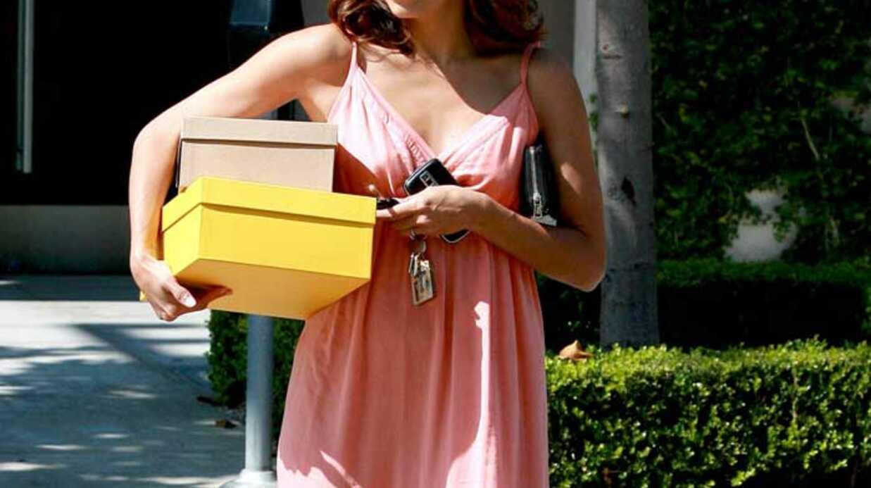 LOOK Eva Longoria en robe bohème