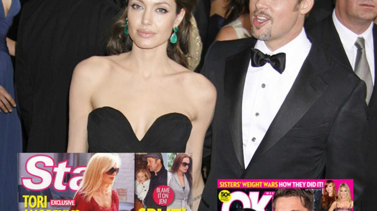 Angelina Jolie et Brad Pitt: séparés et mariés