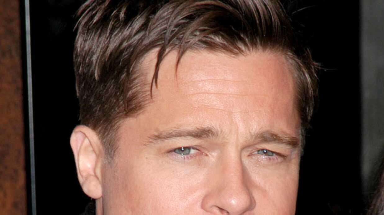 Brad Pitt veut rendre la moustache sexy