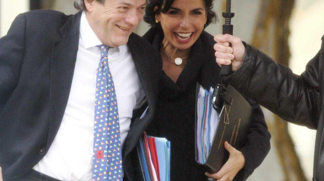 Jean-Louis Borloo, très prévenant avec Rachida Dati