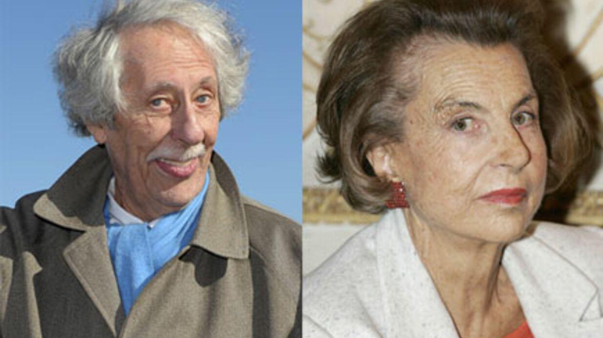 Jean Rochefort sera une Liliane Bettencourt à moustache