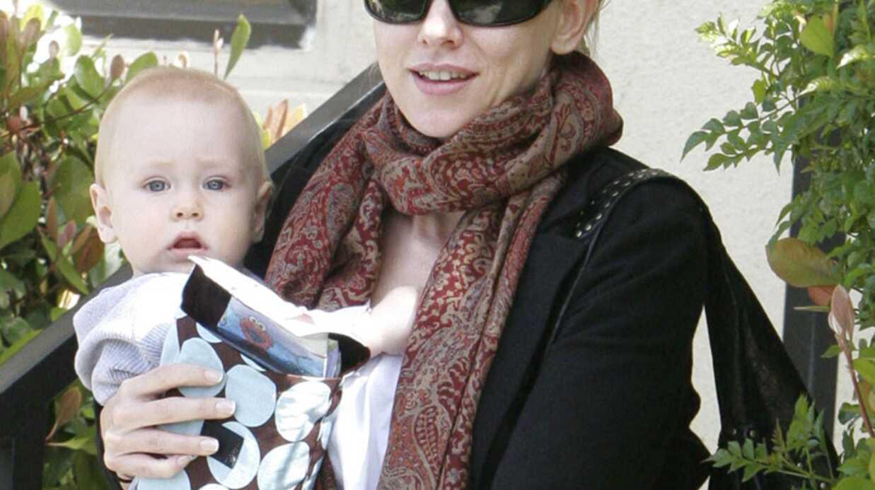 Naomi Watts attend son second enfant