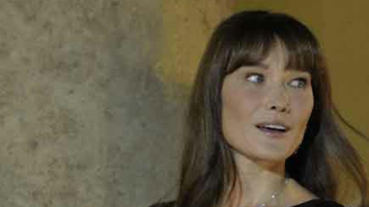 Carla Bruni fan… de la presse people