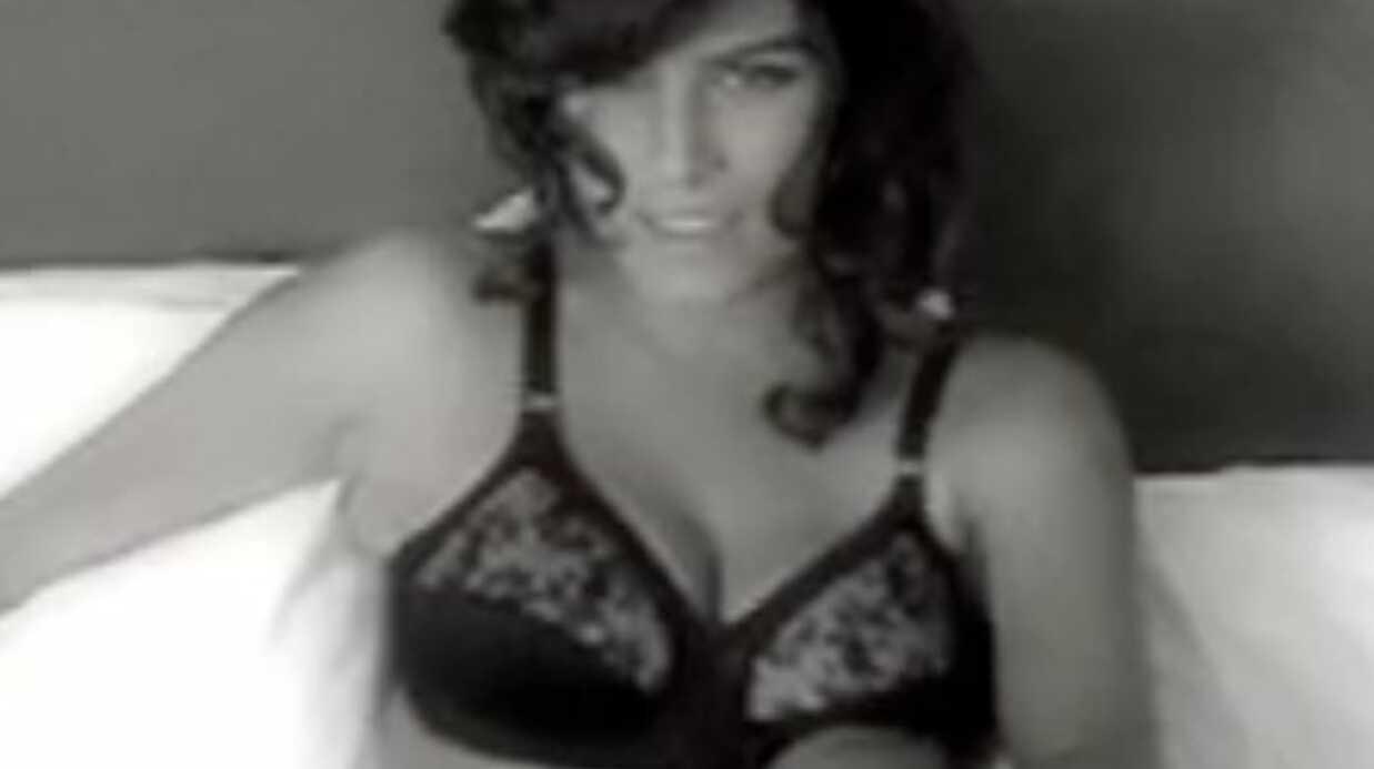 VIDEO Karine Ferri ultra sexy en sous-vêtements