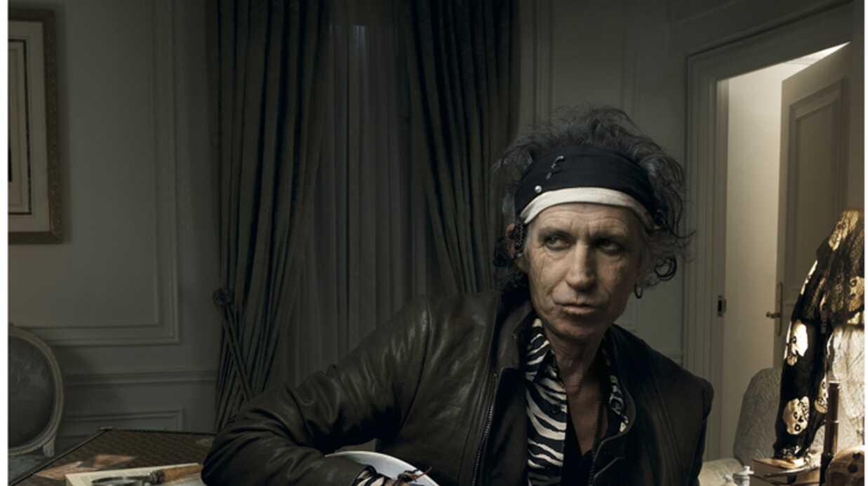 Keith Richards Nouvelle icône de Louis Vuitton