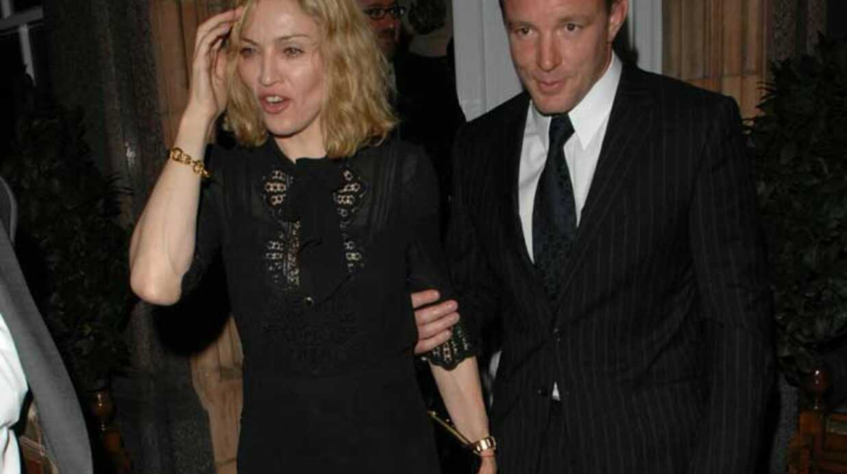 Madonna et Guy Ritchie Culture pub