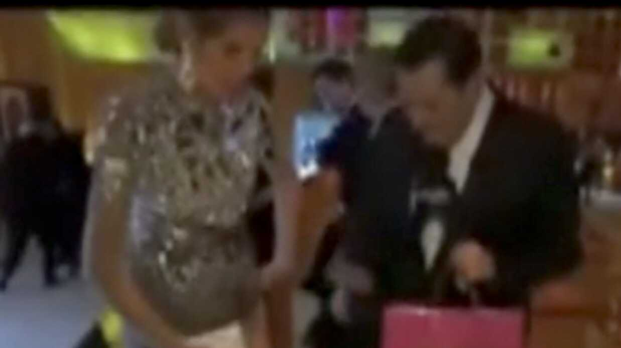 Heidi Klum fait don de sa culotte après les Oscars